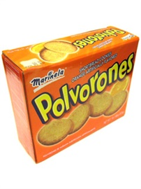 Picture of Polvorones Marinela - Shortbread Cookies Orange Flavored 1 lb 7.80 oz - Item No. 12961