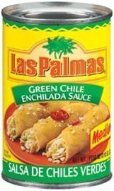 Picture of Las Palmas Medium Green Chile Sauce 10 oz- Item No.1297