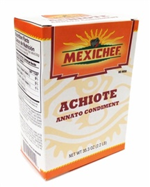 Picture of Achiote - MexiChef Achiote Paste 2.2 lb. - Item No. 13000