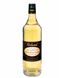 Picture of Wine Vinegar - Roland Special Reserve White Wine Vinegar - 33.8 oz - Item No. 13201