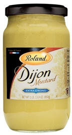 Picture of Dijon Mustard - Roland Extra Strong Dijon Mustard - 29.9 oz - Item No. 13210