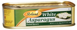 Picture of Asparagus - Roland White Asparagus Spears - 27.8 oz - Item No. 13211