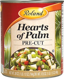 Picture of Hearts of Palm - Roland Pre-cut Hearts of Palm - 28 oz - Item No. 13213