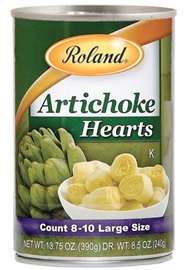 Picture of Artichokes - Roland Artichoke Hearts - 13.7 oz - Item No. 13217