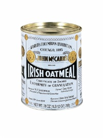 Picture of Irish Oatmeal - John McCann's Irish Oatmeal - 28 oz - Item No. 13227