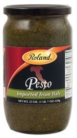 Picture of Pesto - Roland Pesto Sauce Imported from Italy - 23 oz- Item No.13235