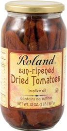 Picture of Sun Dried Tomato - Roland Sun Ripened Dried Tomatoes - 32 oz - Item No. 13238