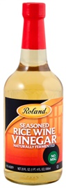 Picture of Rice Vinegar - Roland Seasoned Rice Wine Vinegar No MSG - 20 oz - Item No. 13249