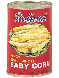 Picture of Baby Corn - Roland Fancy Baby Corn Small Whole 15 oz - Item No. 13253