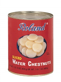 Picture of Water Chestnut - Roland Sliced Water Chestnuts - 29 OZ - Item No. 13254