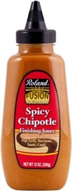 Picture of Chipotle Sauce - Roland Spicy Chipotle Finishing Sauce 12 oz - Item No. 13275