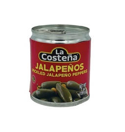 Picture of La Costena Sliced Jalapenos 7 oz (Pack of 3) - Item No. 1342