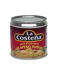 Picture of La Costena Sliced Jalapenos 12 oz. - Item No. 1346