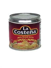 Picture of La Costena Sliced Jalapenos 12 oz.- Item No.1346