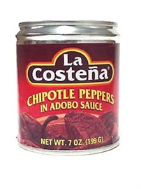 Picture of La Costena Chipotle Peppers in Adobo Sauce 7 oz (Pack of 3) - Item No. 1349