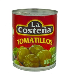 Picture of La Costena Whole Tomatillos 28 oz - Item No. 1350