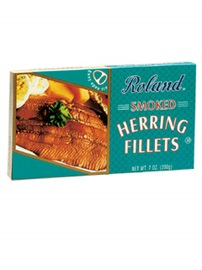 Picture of Herring - Roland Smoked Herring Fillets  7oz- Item No.13502