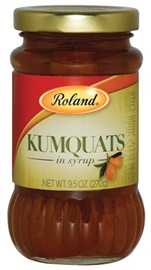 Picture of Kumquats - Roland Kumquats in Heavy Syrup 9.5 oz - Item No. 13515
