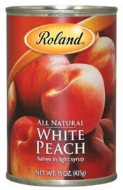 Picture of Peaches - Roland White Peach Halves 15 oz - Item No. 13516