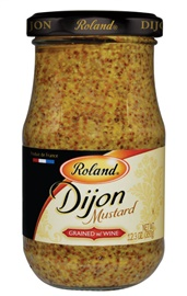 Picture of Dijon Mustard - Roland Fancy Grained Mustard with White Wine 12.34 oz- Item No.13518