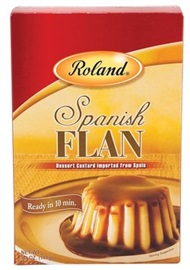 Picture of Flan - Spanish Dessert Custard Flan by Roland 5.1 oz - Item No. 13525