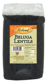 Picture of Roland Beluga Lentils 2 lb - Item No. 13537
