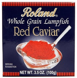 Picture of Roland red Lumpfish Caviar 3.5 oz. 3.5 oz - Item No. 13567