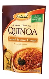 Picture of Roland Toasted Sesame Ginger Quinoa 5. 46 oz - Item No. 13576