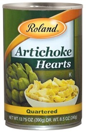 Picture of Artichoke Hearts Quartered by Roland - Item No. 13578