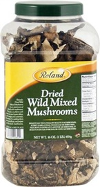 Picture of Dried Wild Mixed Forest Mushrooms - Item No. 13597