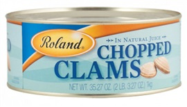 Picture of Roland Chopped Clams in Natural Juice 6.5 oz - Item No. 13613