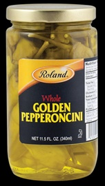 Picture of Roland Golden Pepperoncini  11.5 oz - Item No. 13616
