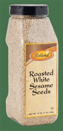 Picture of Roland Roasted White Sesame Seeds 16 oz- Item No.13636
