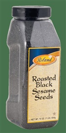 Picture of Roland Roasted Black Sesame Seeds 16 oz - Item No. 13637