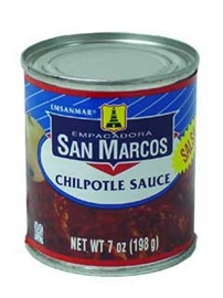 Picture of San Marcos Chipotle Sauce 7 oz (Pack of 3) - Item No. 1364