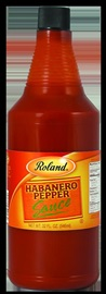 Picture of Roland Habanero Pepper Sauce 32 oz - Item No. 13642