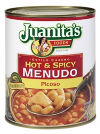 Picture of Juanita's Hot & Spicy Menudo Foodservice Picoso - Item No. 1394-10