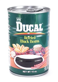 Picture of Ducal Refried Beans Black - 15 oz (Pack of 3) - Item No. 1400