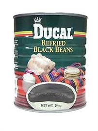 Picture of Refried Beans - Ducal Refried Black Beans 29 oz. - Item No. 1401
