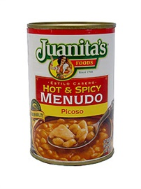 Picture of Hot & Spicy Menudo Picoso by Juanita�s 15 oz - Item No. 1404