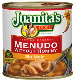 Picture of Menudo - Juanita's Menudo with out Hominy 29.5 oz - Item No. 1406