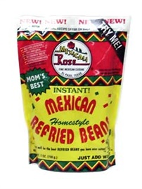 Picture of Mexicali Rose Instant Mexican Refried Beans 7 oz (Pack of 3) - Item No. 1419