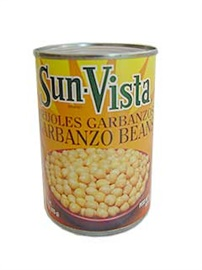 Picture of Garbanzo Beans by Sun Vista 15 oz (Pack of 3) - Item No. 1430