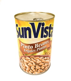Picture of Pinto Beans with Garlic by Sun Vista 15 oz (Pack of 3) - Item No. 1432