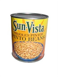 Picture of Pinto Beans with Garlic by Sun Vista 29 OZ - Item No. 1433