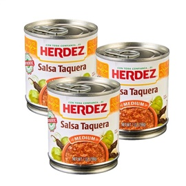 Picture of Salsa Taquera Herdez - Hot 7 oz (Pack of 3) - Item No. 1458