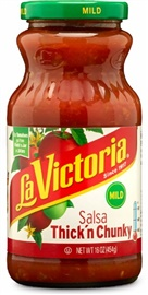 Picture of Mexican Salsa - La Victoria Thick'n Chunky Salsa - Mild 16 oz. - Item No. 14924