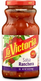 Picture of Salsa Ranchera La Victoria Hot - 16 oz. - Item No. 14926