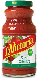 Picture of Cilantro Salsa - La Victoria Salsas -  Mild - 16 oz - Item No. 14943