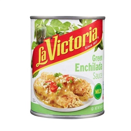 Picture of Green Enchilada Sauce La Victoria - Mild - 28 oz.- Item No.14952